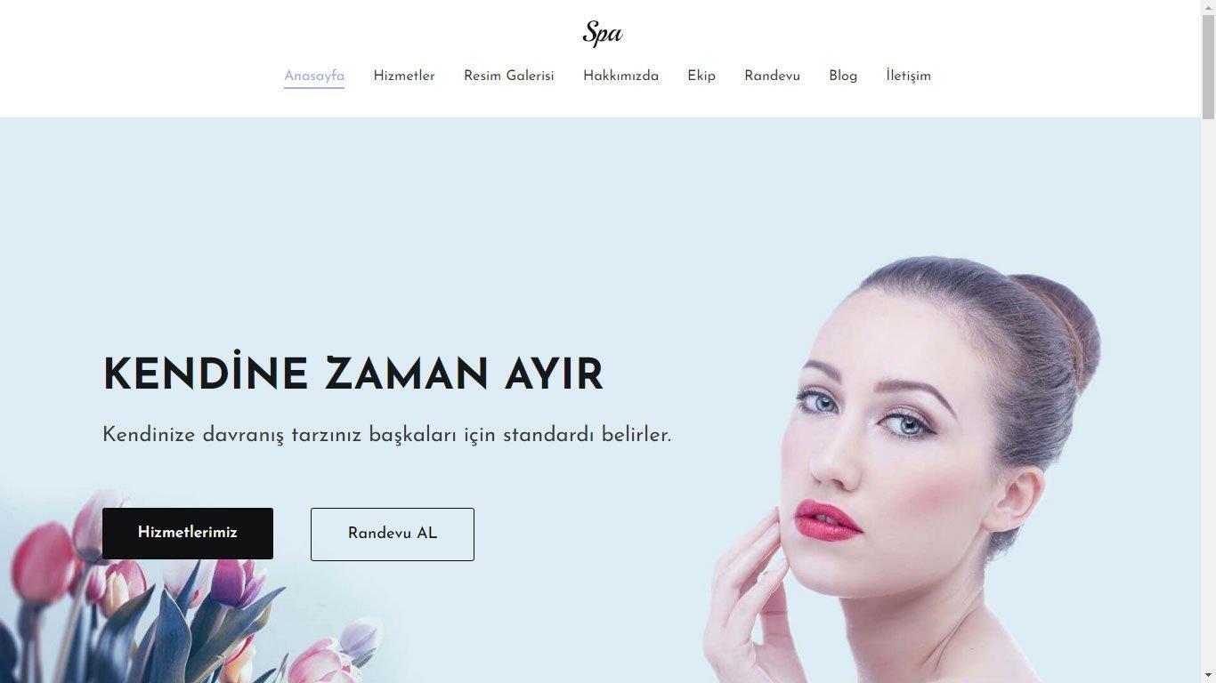 Tema 16 - Spa Web Tasarım - Hızlı Web- Ucuz Kurumsal Web Site Tasarım