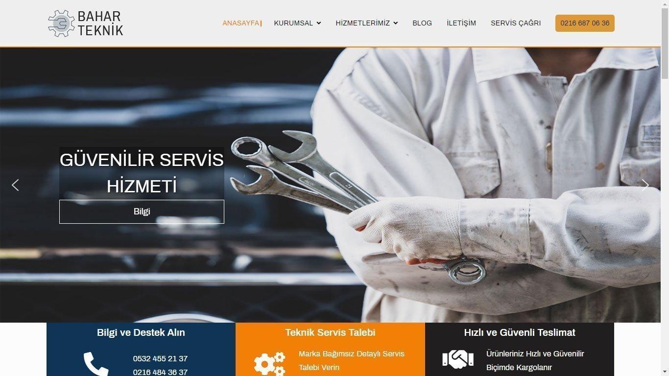 Tema 17 - Tekik Servis Web Tasarım - Beyaz Eşya Web Sitesi - Kurumsal Web Tasarım - Hızlı Web - Ucuz Web Sitesi Yapanlar
