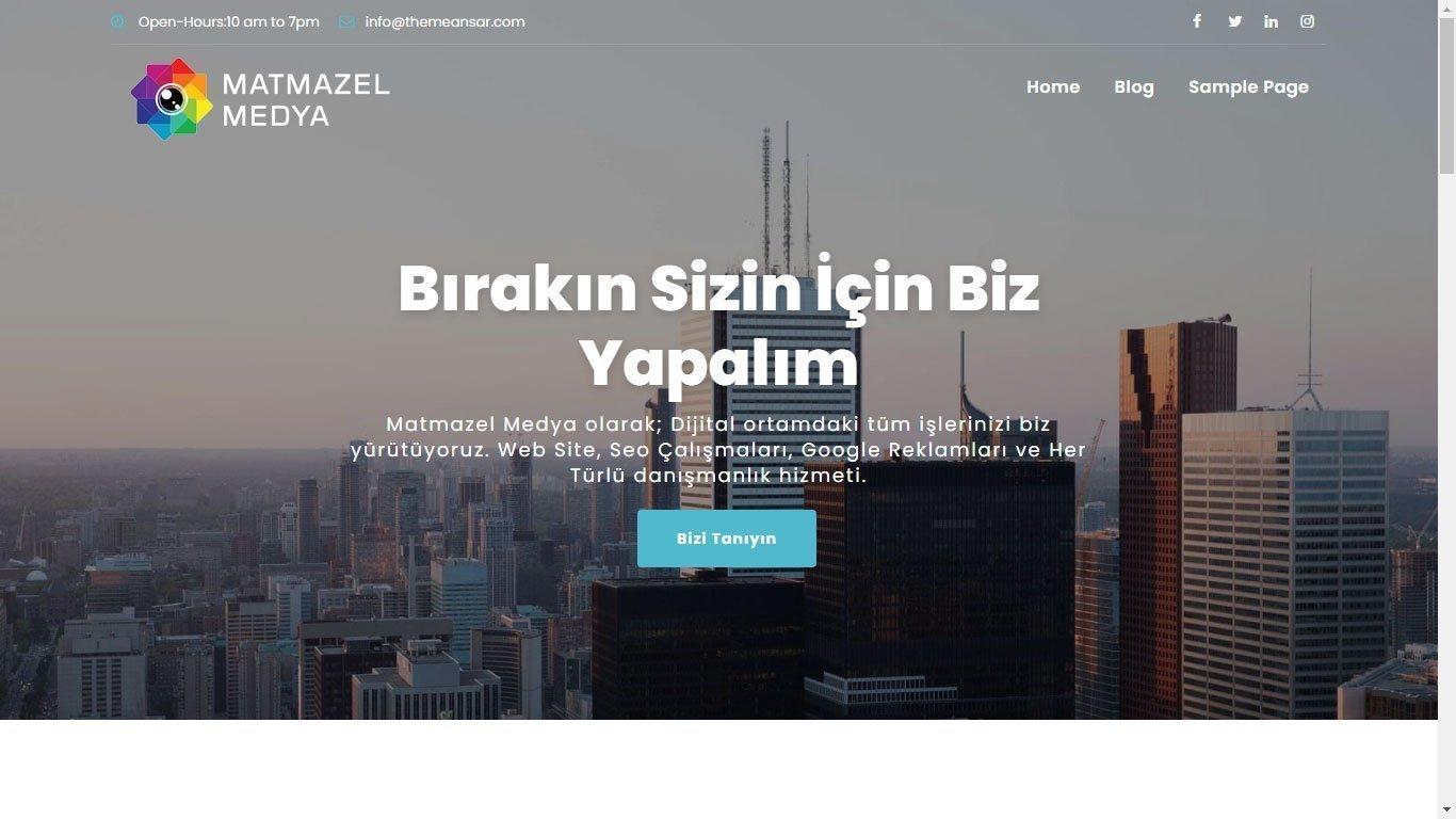 Tema 18 - Kurumsal Web Tasarım - Hızlı Web - Ucuz Site