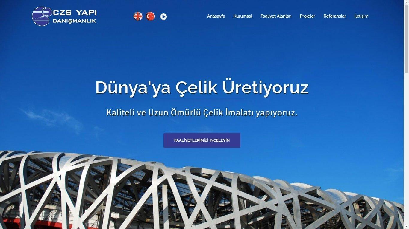 Tema 52 - Hızlı Web - Çelik Sektörü Kurumsal Web Tasarım