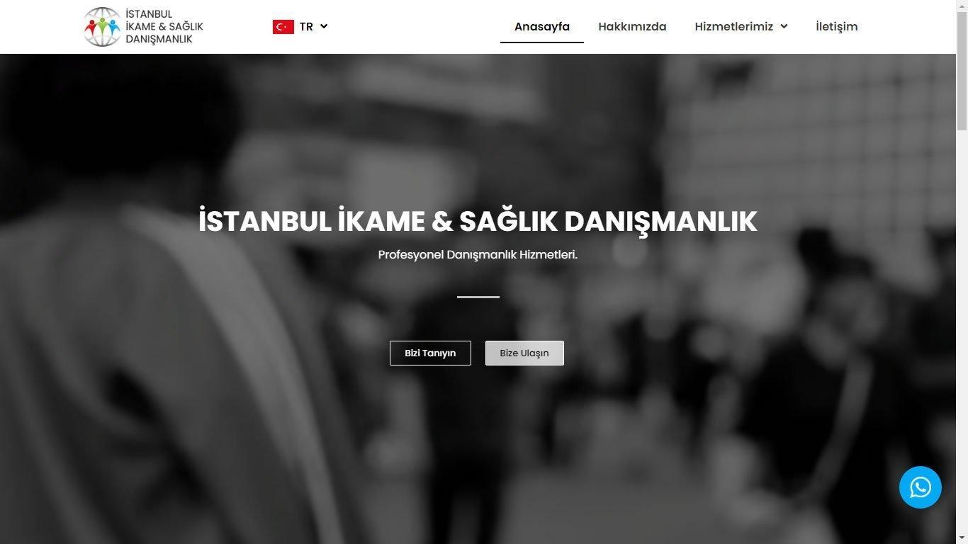 Tema 54 - Danışmanlık Sitesi Teması - Hızlı Web - Ucuz Kurumsal Web Tasarım