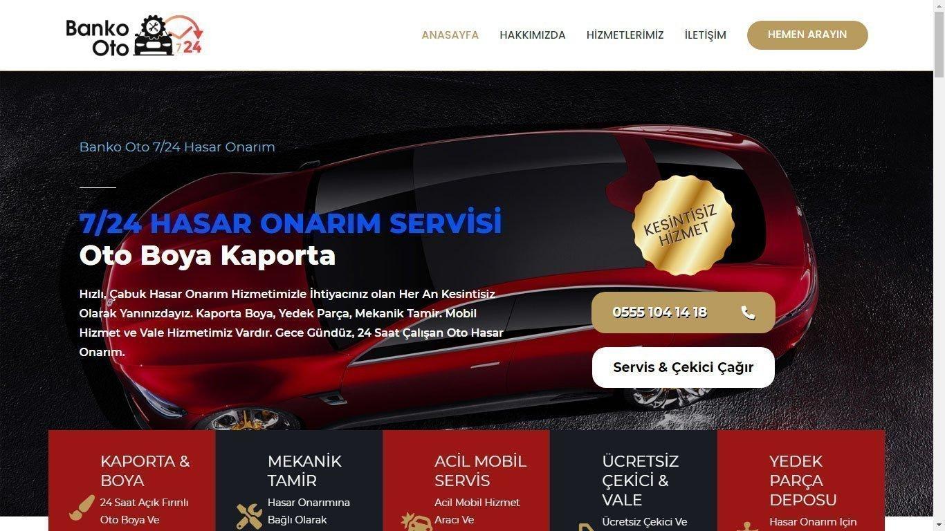 Tema 58 - Oto Servis- Oto tamir Web site Teması - WordPress - Hızlı Web - Ucuz Web Tasarım