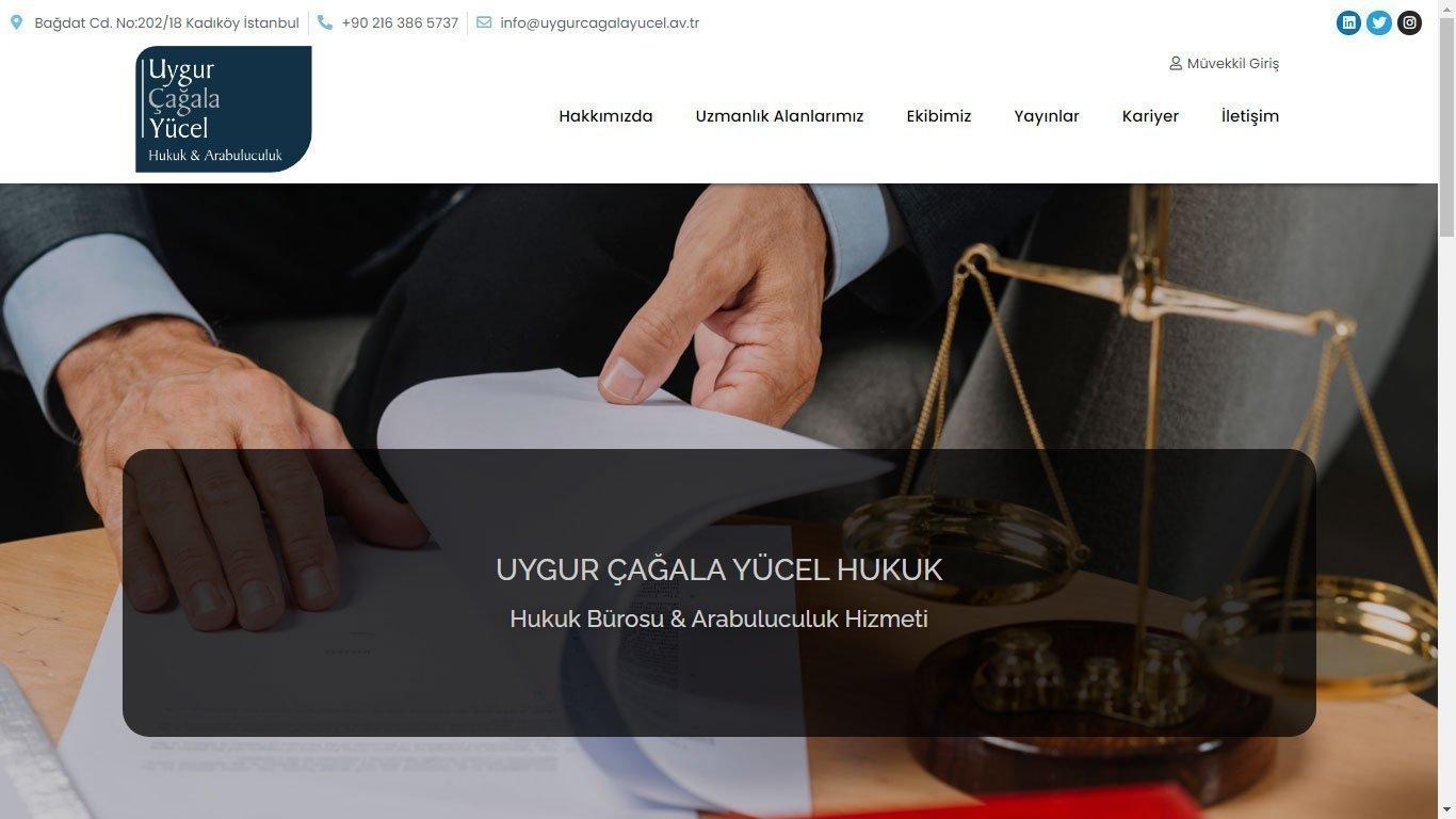 Tema 64 - Avukatlık Bürosu Teması - Hızlı Web - Kurumsal Web Tasarım