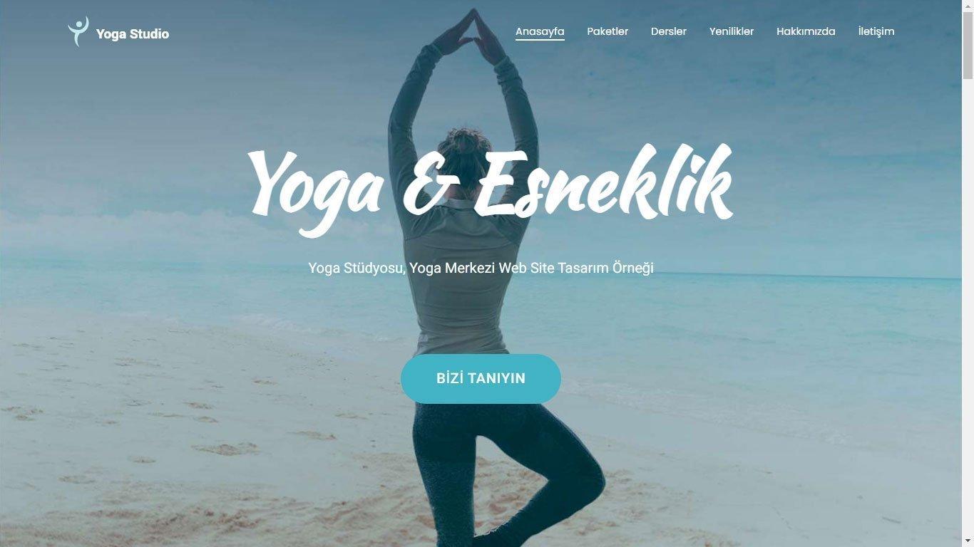 Tema 67 - Yoga Teması - Yoga Studyosu Web Site Teması - Hızlı Web