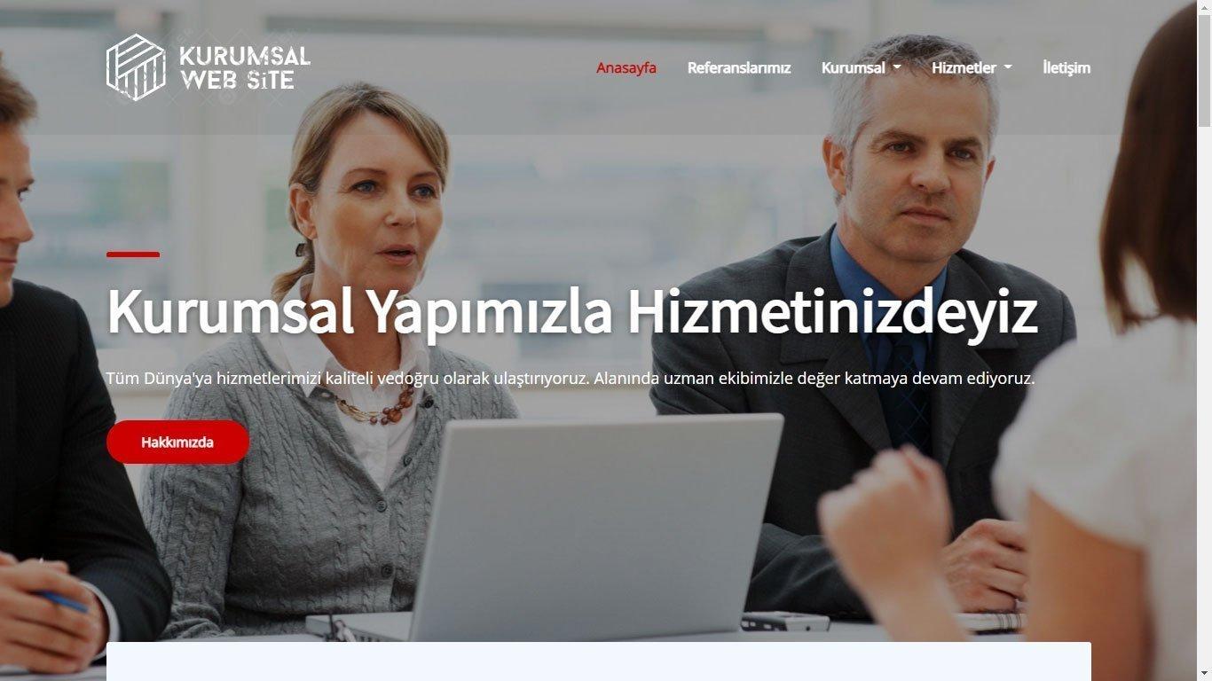 Tema 71 - Kurumsal Web Tasarım - Hızlı Web