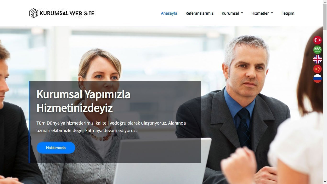 Tema 72 Kurumsal Web Tasarım